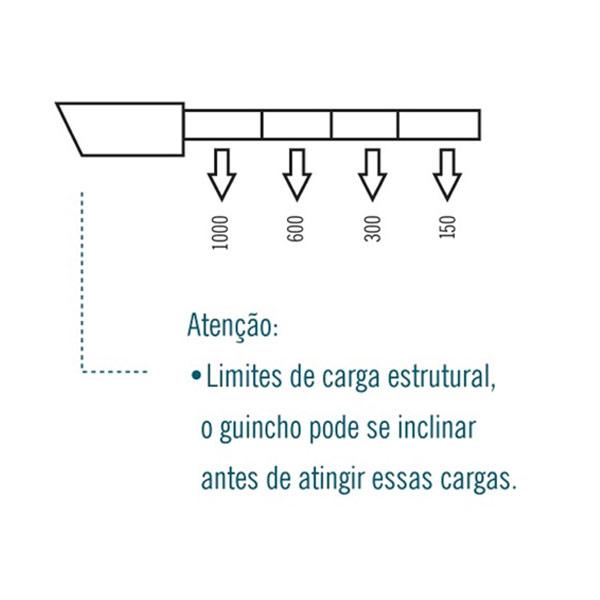 Guincho Hidráulico Robusto 2 Ton com Prolongador