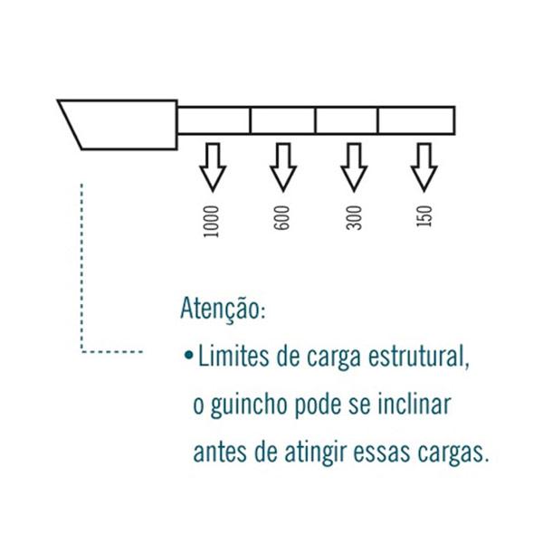 Guincho Hidráulico em V 1 Ton com Prolongador