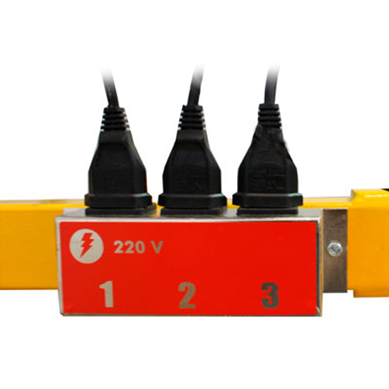 Painel de Secagem 3.000 watts