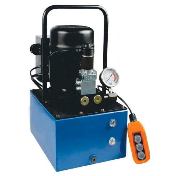 Bomba Hidraulica Motorizada Dupla Ação Solenoide 8 Litros