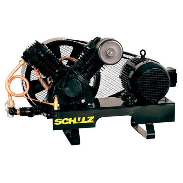 Compressor de ar Industrial Ar Direto Schulz Alta Pressão - 20 pés