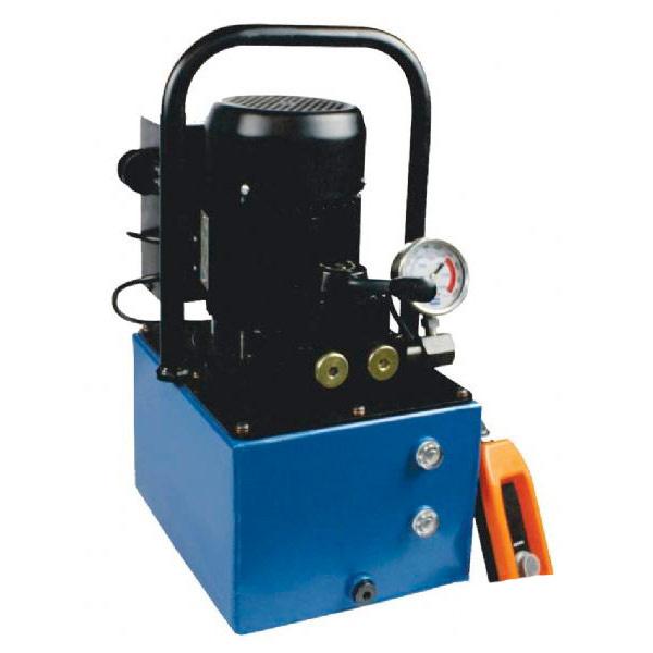 Bomba Hidraulica Motorizada Dupla Ação 5 Litros Controle Remoto