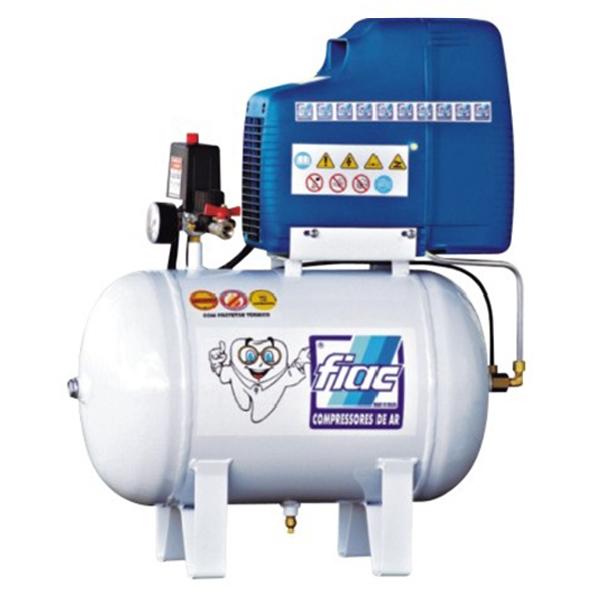 Compressor Odontológico Fiac 30 litros - 7 pés