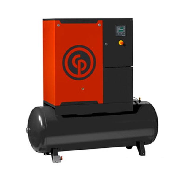 Compressor de Ar Parafuso Chicago Pneumatic 10 HP - 400 Litros
