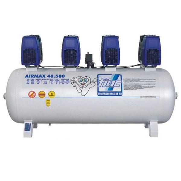 Compressor Odontológico Fiac 500 litros - 48 pés