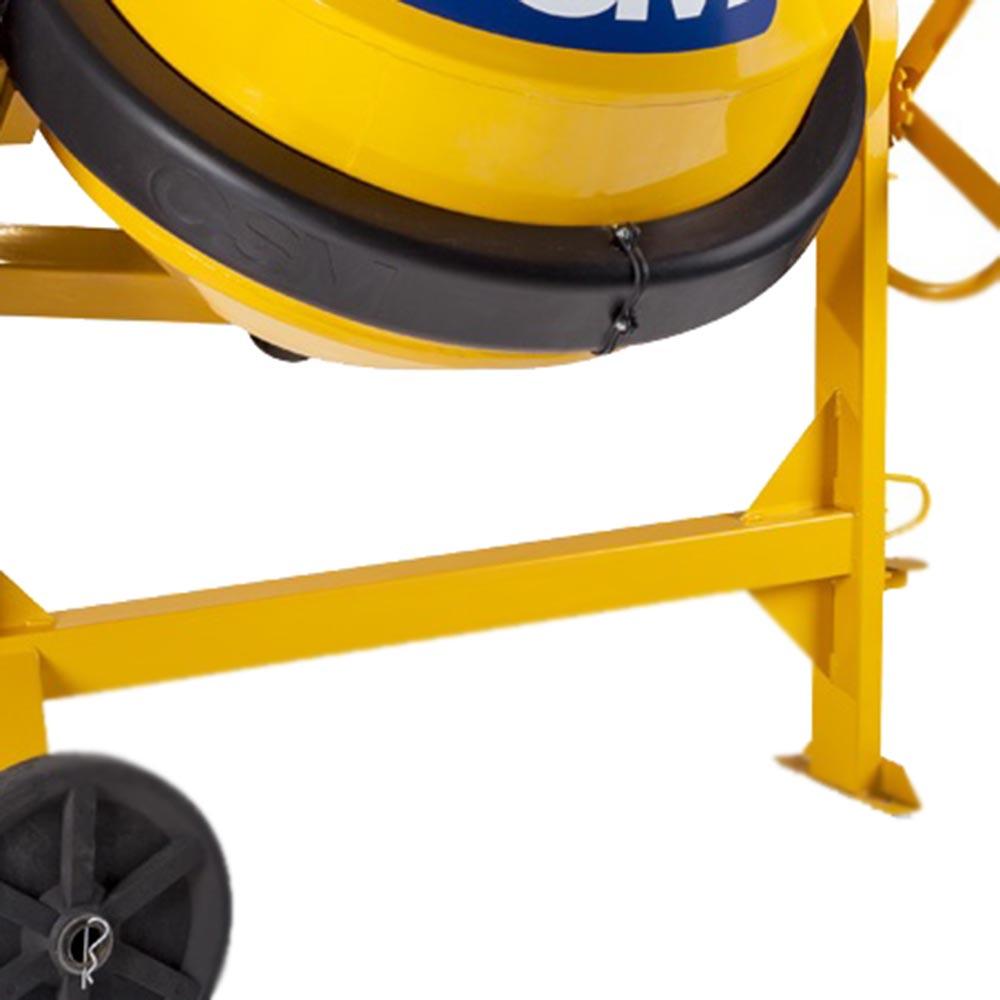 Betoneira à Gasolina CSM 400 litros Motor Lifan 5.5 HP
