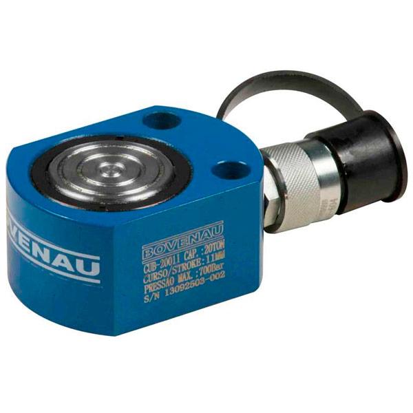 Cilindro Hidráulico Simples Ação 20 Ton CUB20011