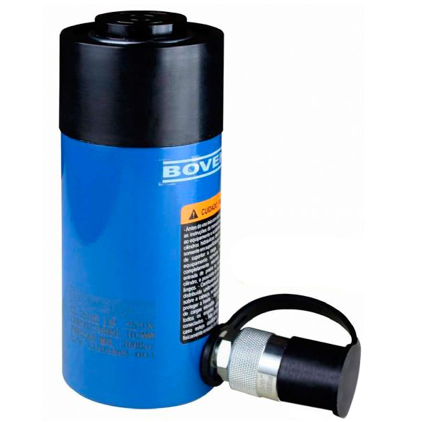 Cilindro Hidráulico Simples Ação 25 Ton CS 25026