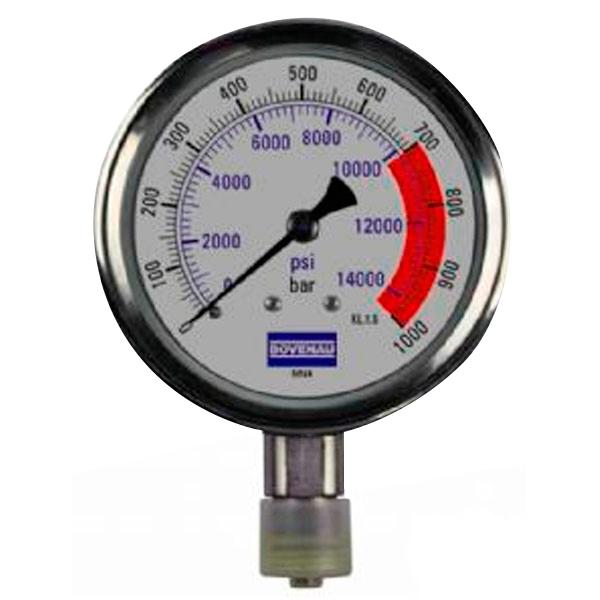 Manômetro de Pressão MN 4 de 1.000 bar