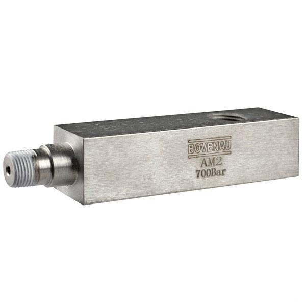 Adaptador de Manômetro AM2 1/2 pol Bovenau