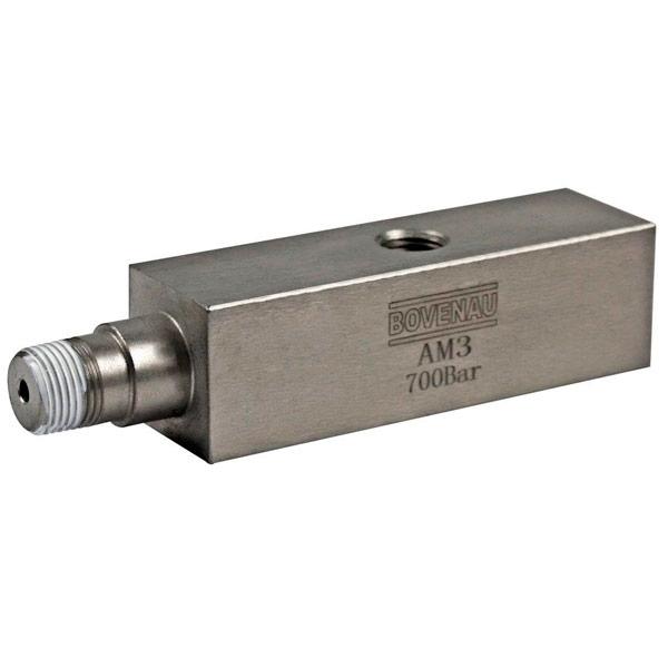Adaptador de Manômetro AM3 1/4 pol Bovenau