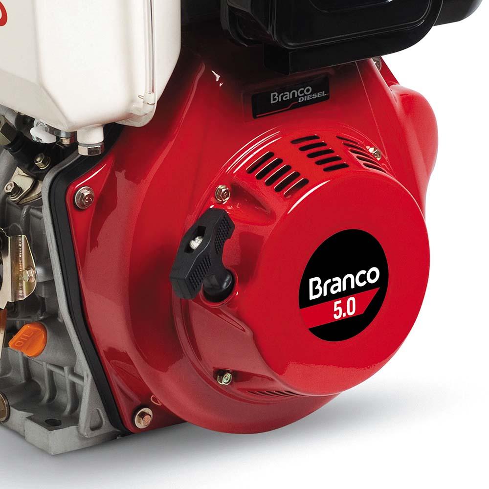Motor Horizontal à Diesel Branco 5 HP