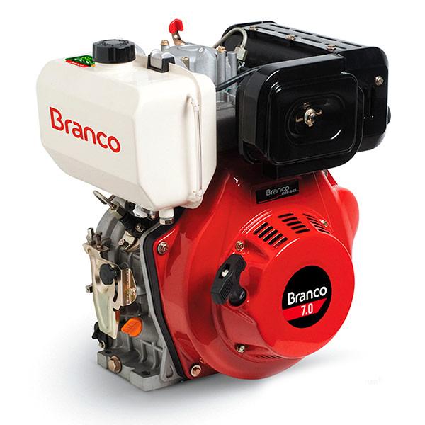 Motor Horizontal à Diesel Branco 7 HP