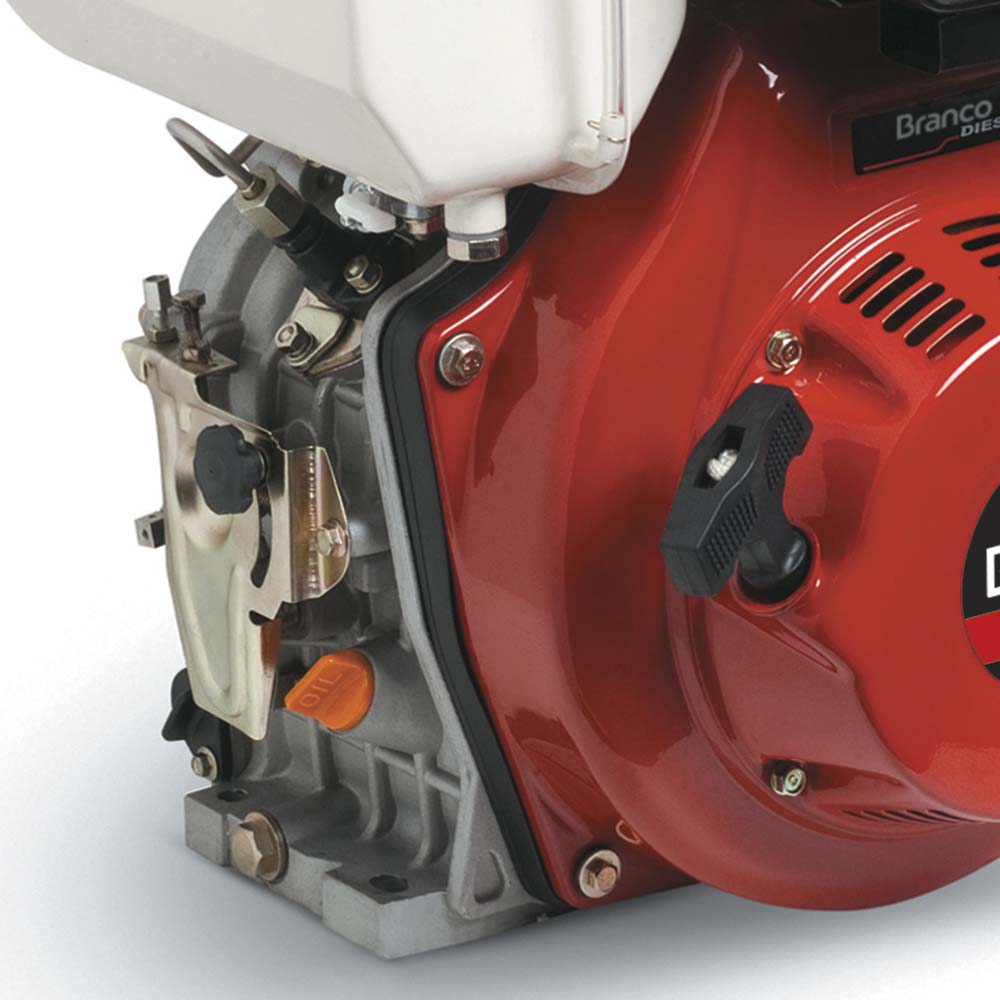 Motor Horizontal à Diesel Branco 10 HP