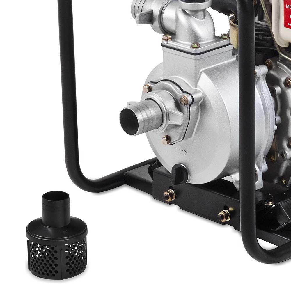 Motobomba Branco à Diesel 4.7 HP - BD 710CF