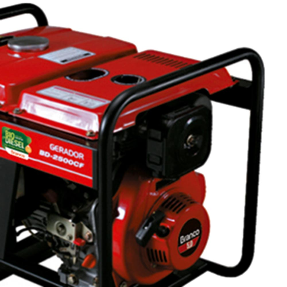 Gerador de Energia à Diesel Branco 2.2 KVA