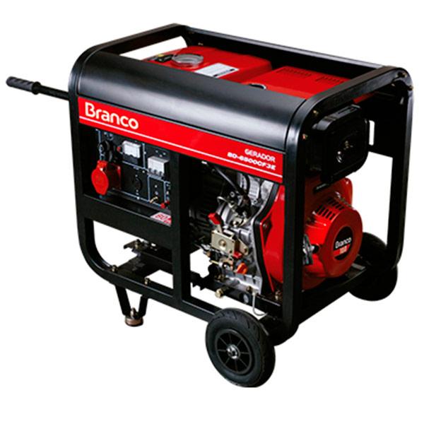 Gerador de Energia à Diesel Branco 4.5 KVA
