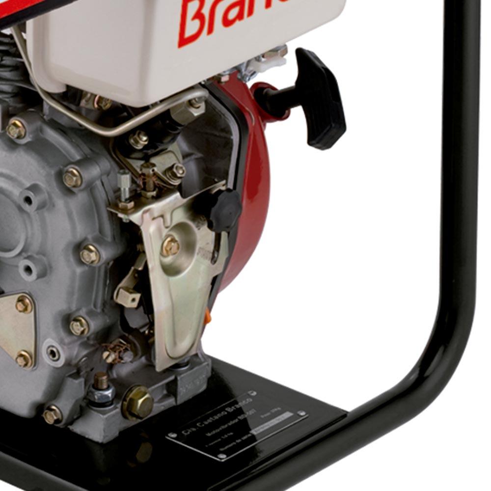 Vibrador de Concreto à Diesel Branco 5 HP