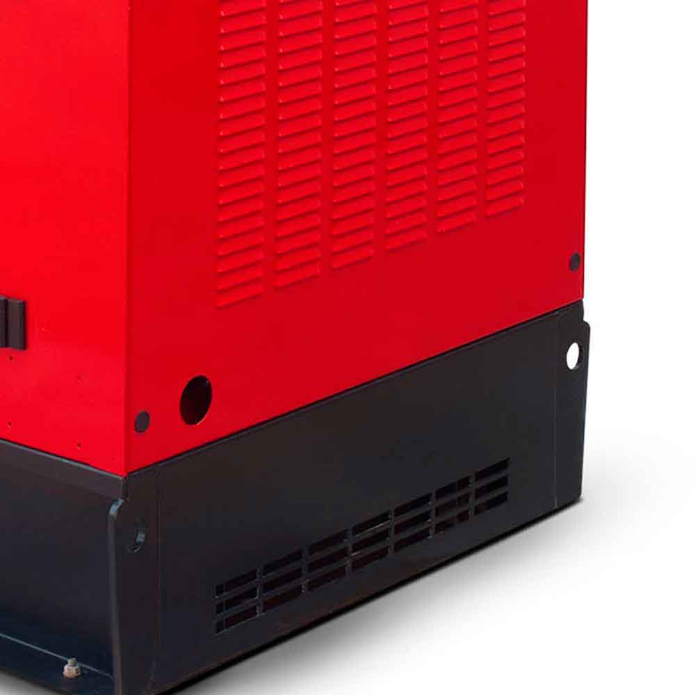 Gerador de Energia à Diesel 4T Branco 28.75 KVA com ATS