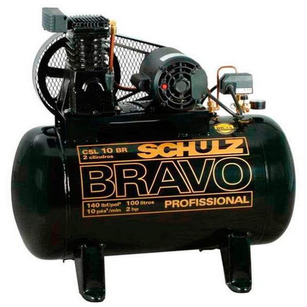 Compressor de Ar Schulz 100 litros - 10 Pés