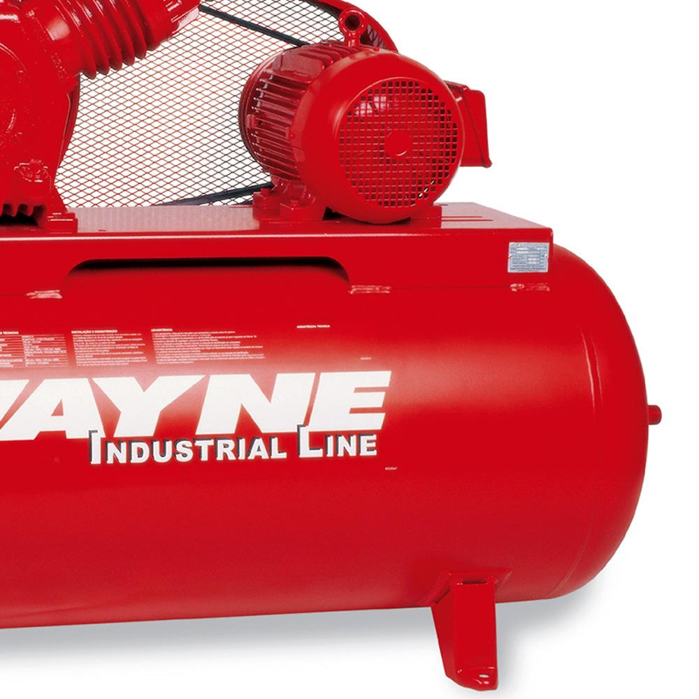 Compressor de ar Industrial Alta Pressão Wayne 425 litros - 40 pés