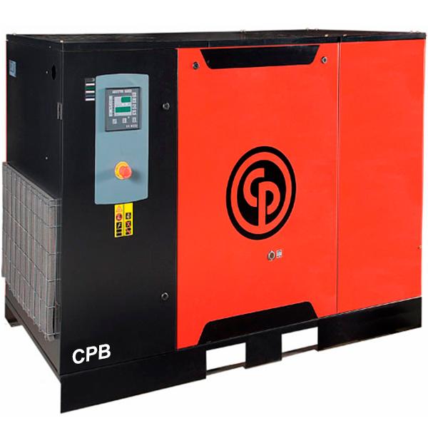 Compressor de Ar Parafuso Chicago Pneumatic 25 HP - Ar Direto com Secador