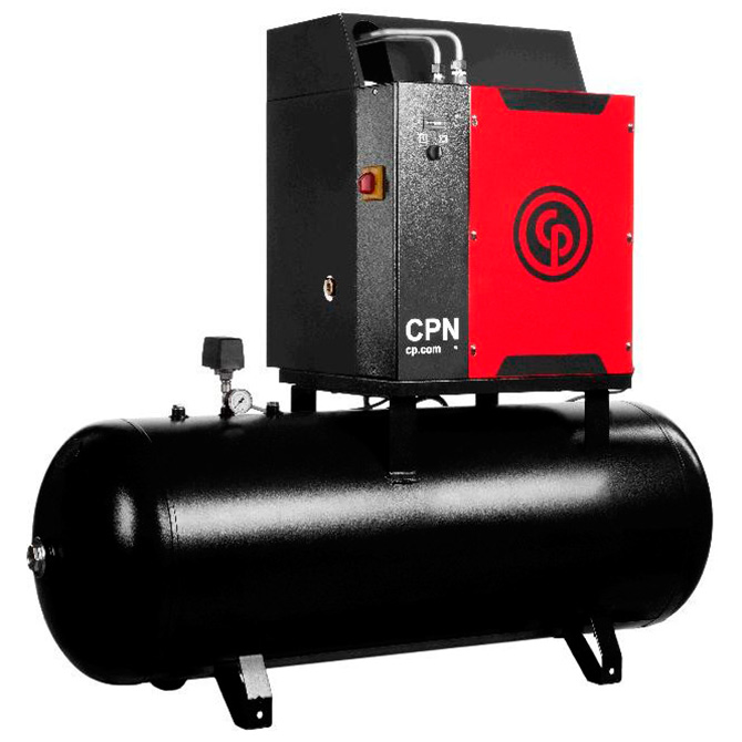 Compressor de Ar Parafuso Chicago Pneumatic 7.5 HP - 240 Litros