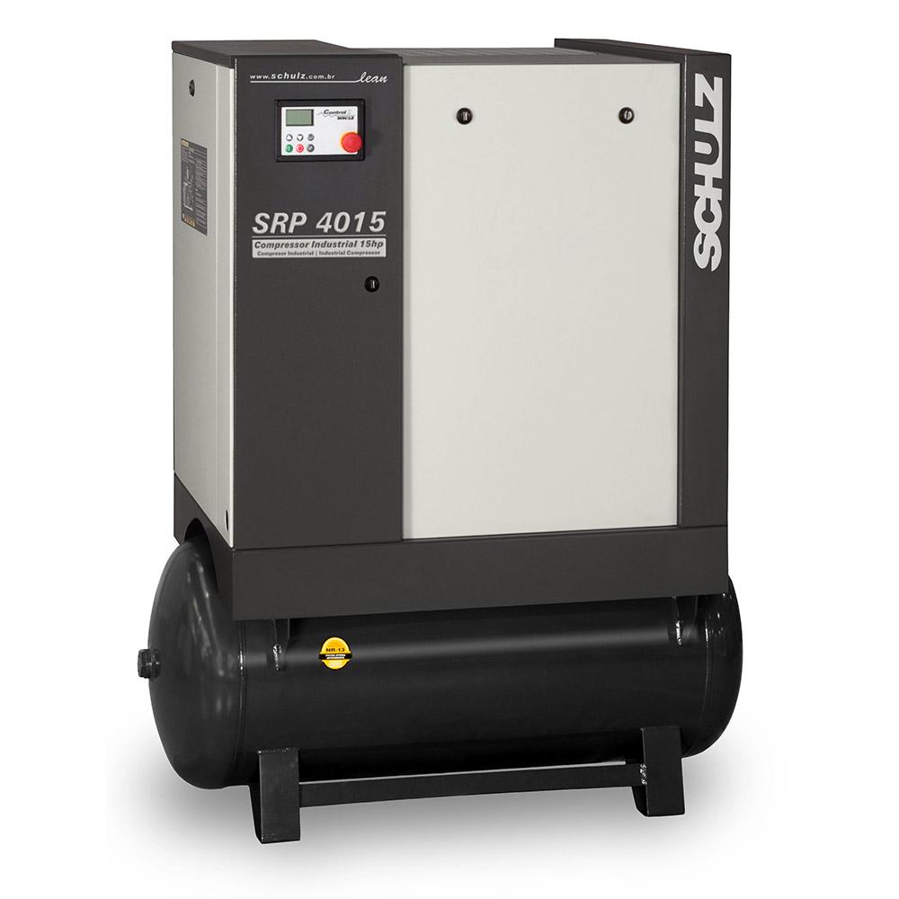 Compressor de Ar Parafuso Schulz 15 HP - 230 Litros