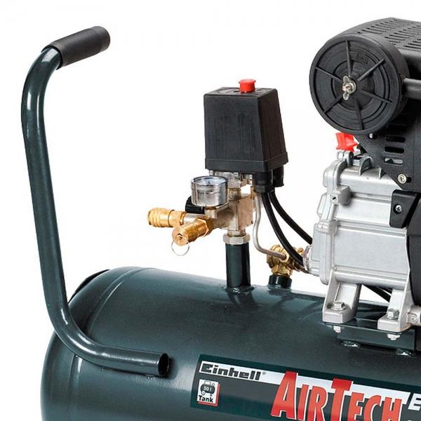 Motocompressor de Ar Einhell Euro 50 litros 9.5 Pés 220v