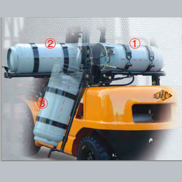 Empilhadeira à Combustão - Gás (GLP) ou Gasolina - 2500 KG