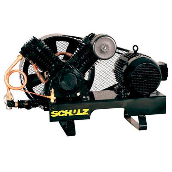 Compressor de ar Industrial Ar Direto Schulz Alta Pressão - 40 pés