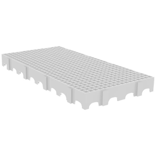 Estrado de Plástico Branco Cold 2550 - 10 Peças