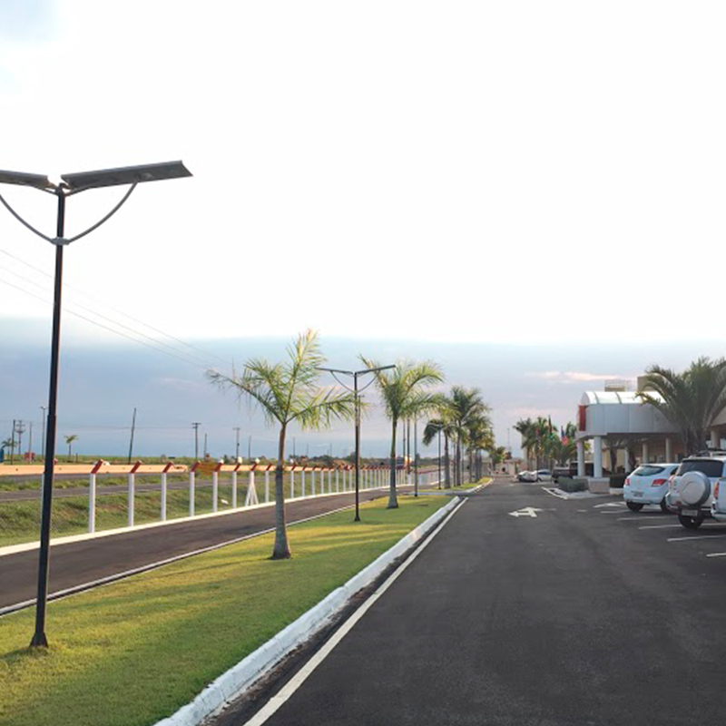 Iluminação Pública Led Solar 20w