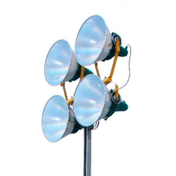 Torre de Iluminação CSM 1000W com Gerador 10 KVA