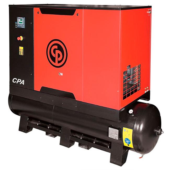 Compressor de Ar Parafuso Chicago Pneumatic 20 HP - 240 Litros com Secador e Filtro