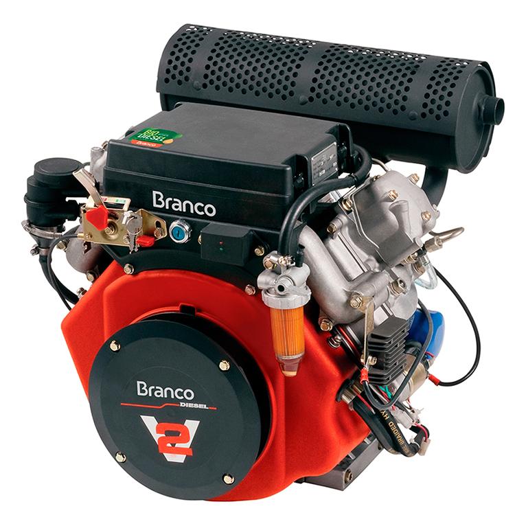 Motor Horizontal à Diesel Branco 22 HP G2