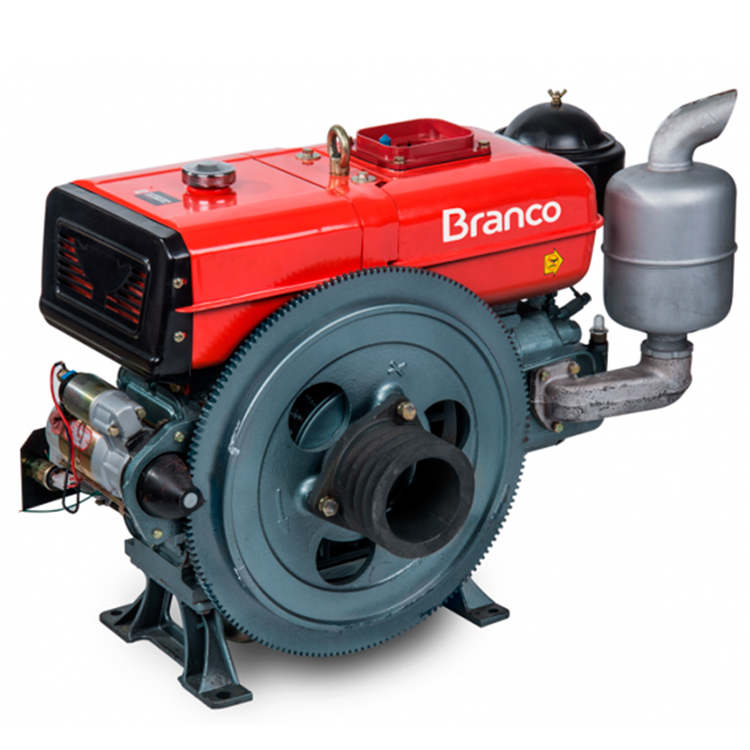 Motor à Diesel Branco Refrigerado à Agua 22 HP