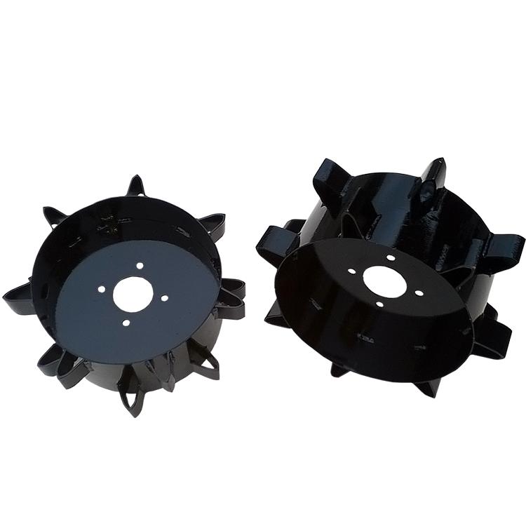 Conjunto de Rodas de Ferro para Motocultivador até 7 HP