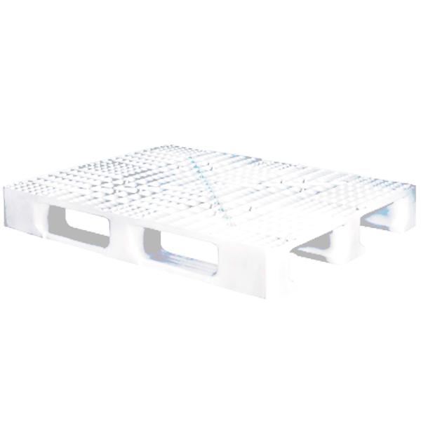Pallet de Plástico 1210-3 Branco-virgem