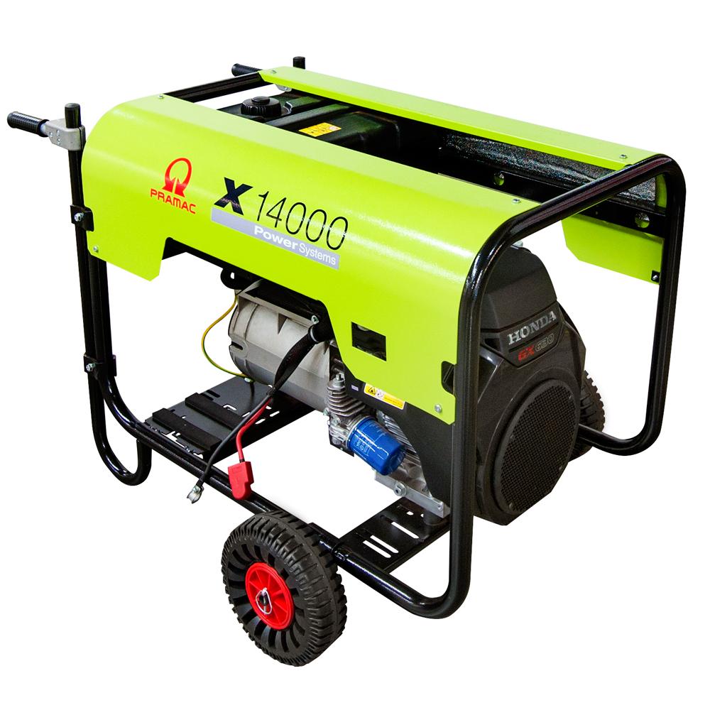 Gerador de Energia à Gasolina Pramac 13 KVA