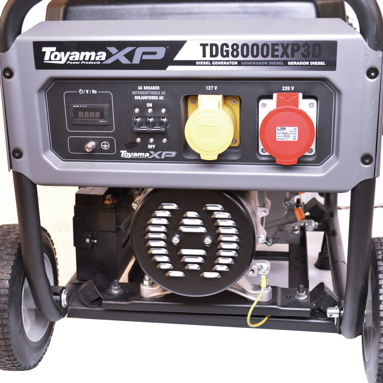 Gerador de Energia à Diesel Toyama 6 KVA