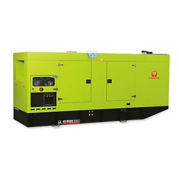 Gerador de Energia à Diesel Pramac 506 kva