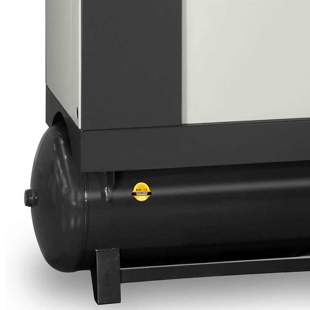 Compressor de Ar Parafuso Schulz 10 HP - 230 Litros