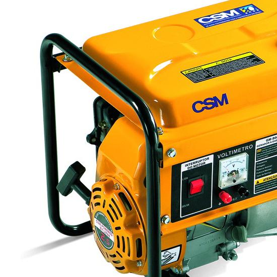 Gerador de Energia Portátil à Gasolina CSM 1 KVA