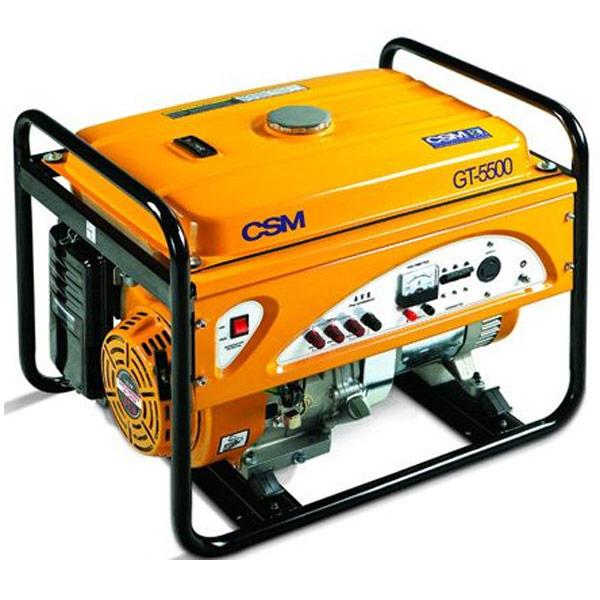 Gerador de Energia Portátil à Gasolina CSM 6 KVA