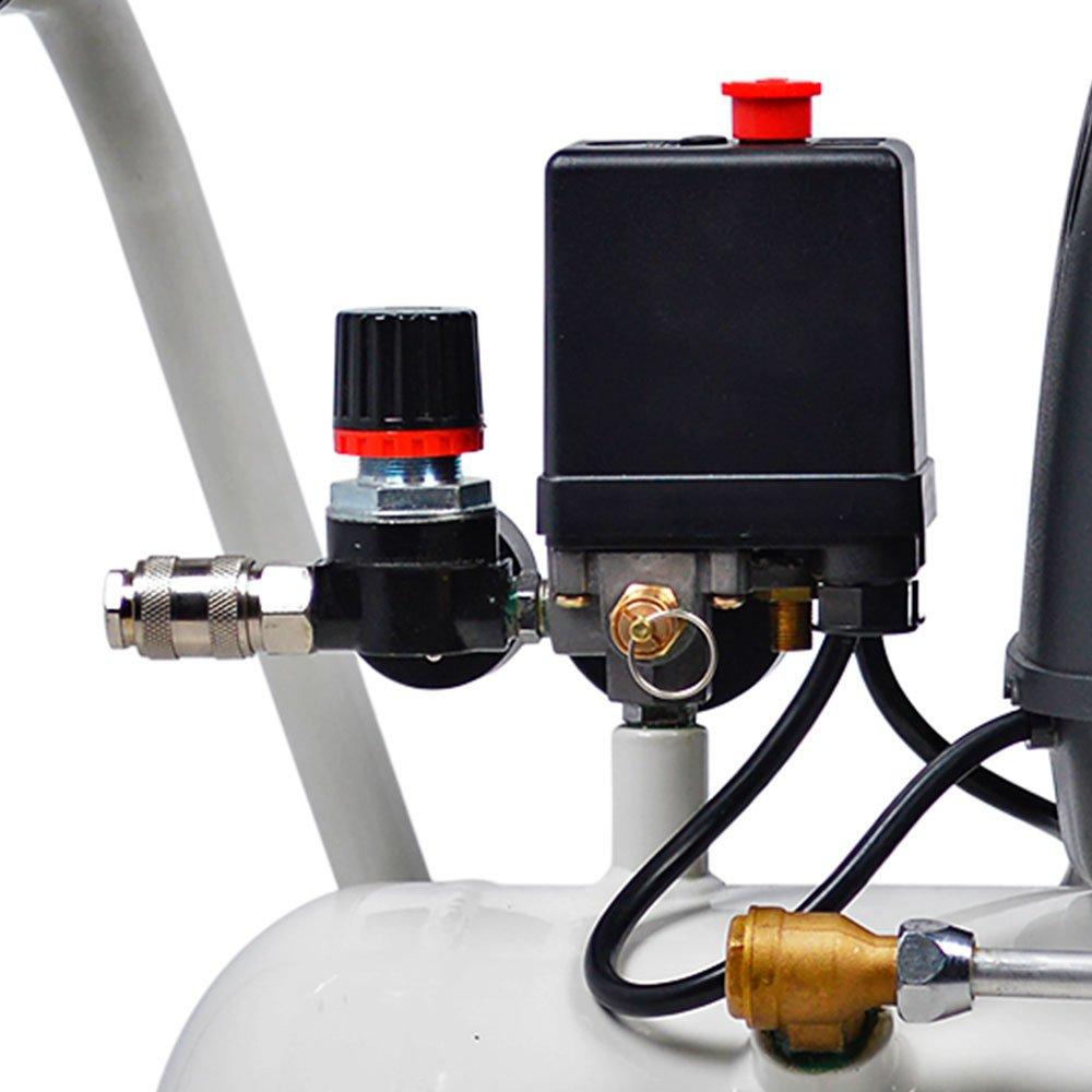 Compressor odontol gico fiac lider 25 litros 6 p s - Compresor 6 litros ...