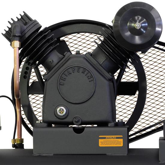 Compressor de Ar Industrial Alta Pressão Chiaperini 200 litros - 20 pés