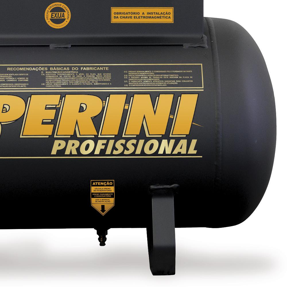Compressor de Ar Industrial Chiaperini 110 litros - 10 Pés