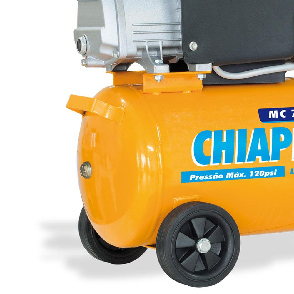 Motocompressor Chiaperini 24 litros - 7.6 Pés 110v