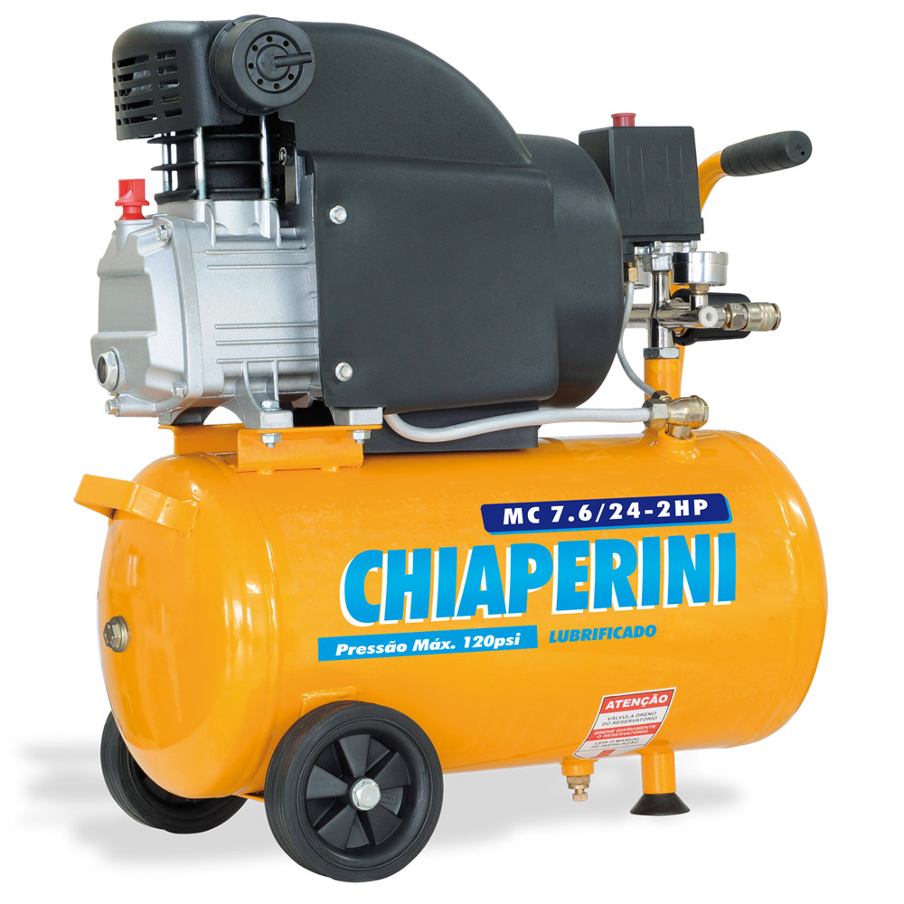 Motocompressor Chiaperini 24 litros - 7.6 Pés 220v